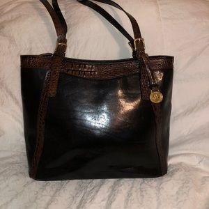 Classic Brahman Leather Purse